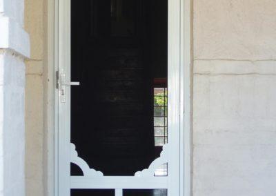 decorative home security screen door