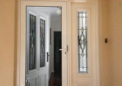 minimal home security door