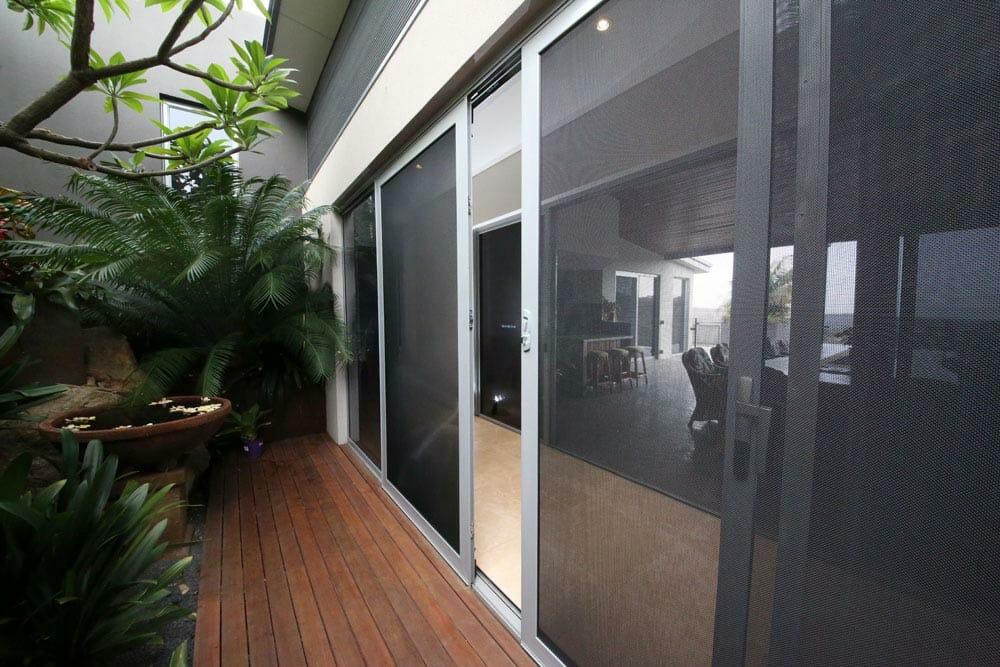 security doors with decking