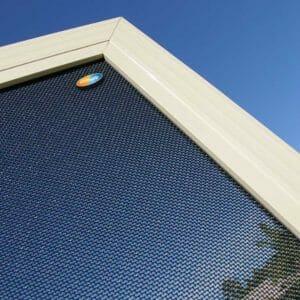 Crimsafe mesh screen