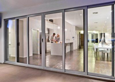 Crimsafe Security Screen Doors at a Perth home